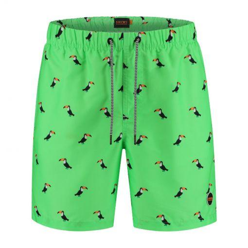 Men Swimshort Tucan - 701 New Neon Green
