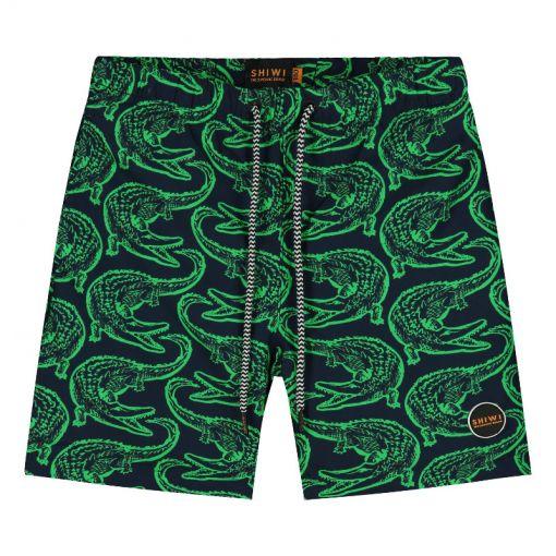 Boys Swimshort Alligator - 723 Irish Green