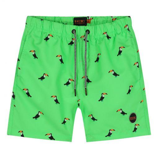 Boys Swimshort Tucan - 701 New Neon Green