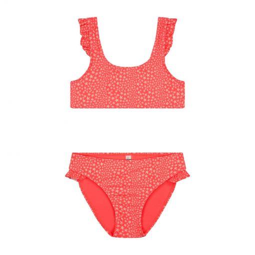 Girls Tuvalu Scoop Top Bikini - 221 Granatina
