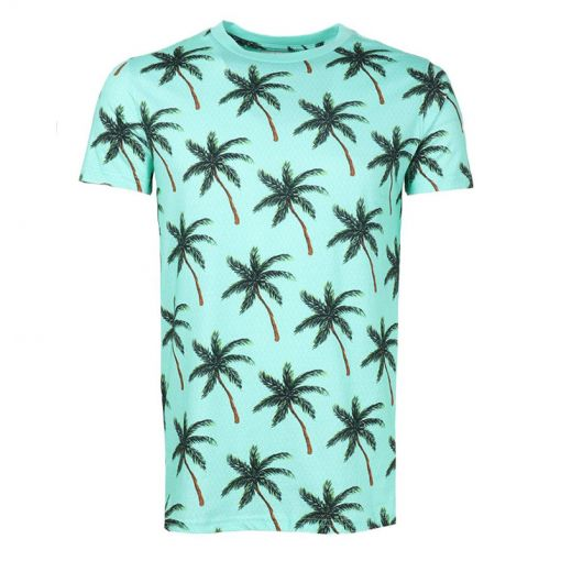 Men Tee Painted Palms - 676 Pappagallo