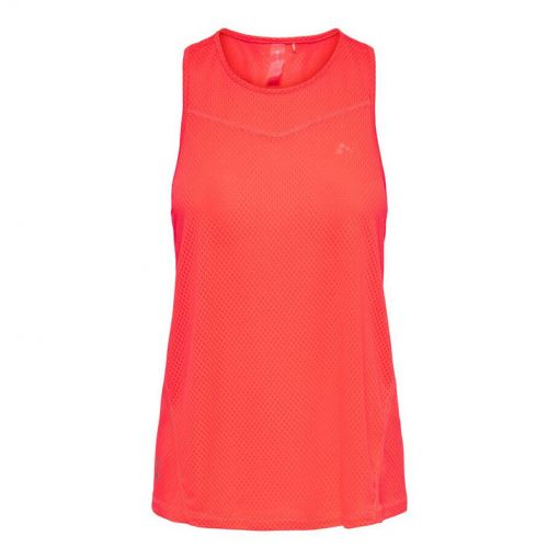 Onp Sul Sl Training Top - Fiery Coral