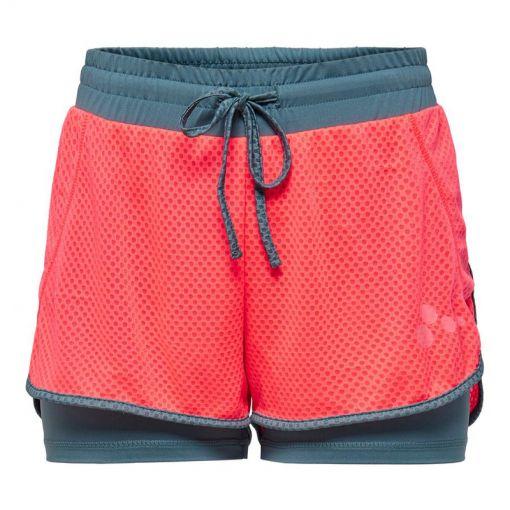 Onp Sul Loose Training Short - Fiery Coral/Goblin Blue