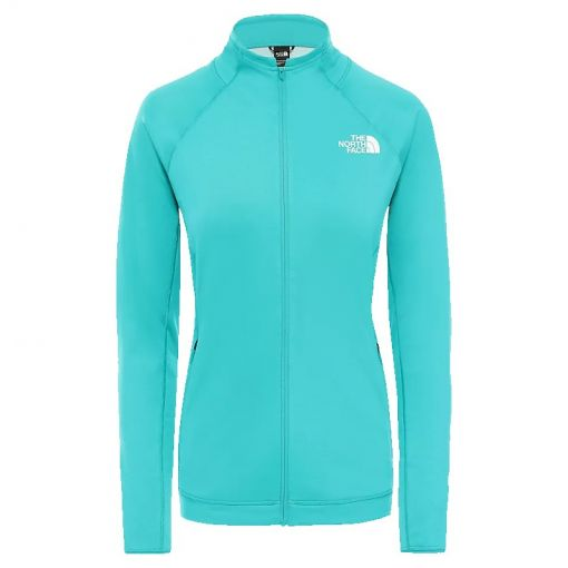 The North face dames vest Inpendor Full Zip - Jaiden Green