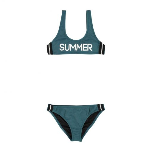 Brunotti meisjes bikini Daarani JR - groen