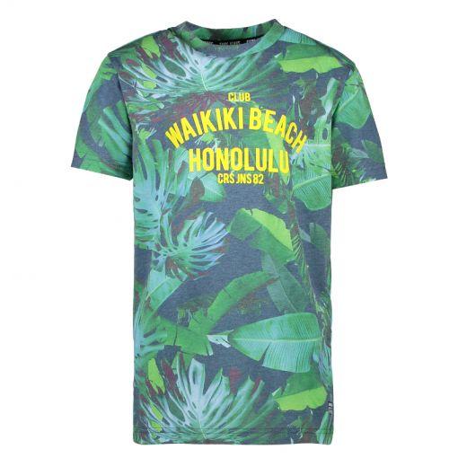 Cars jongens t-shirt Santino Ts Print - Blauw
