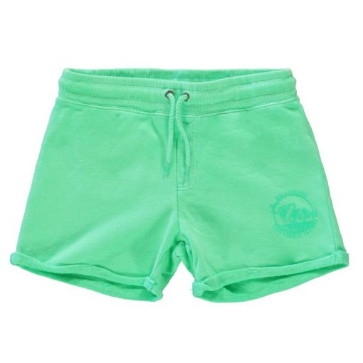 Kids Milty Short - 55 Neon Green