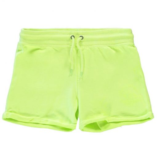 Kids Milty Short - 30 Neon Yellow