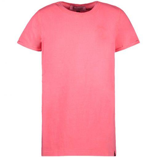 Kids Irvy Ts - 69 Neon Pink