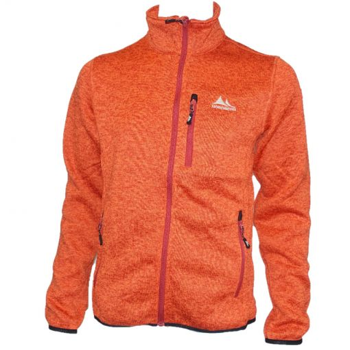 Mens Fleece Felix - OR Orange Melange