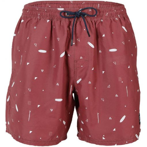 Tasker Mini AO SS20 Mens Shorts - 0256 Auburn Red