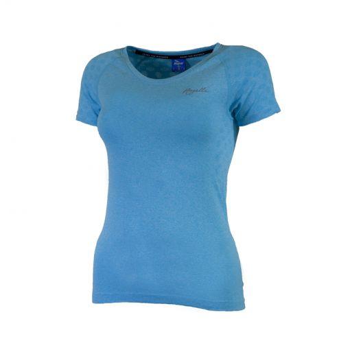 Lds Seamless T-Shirt - Blauw