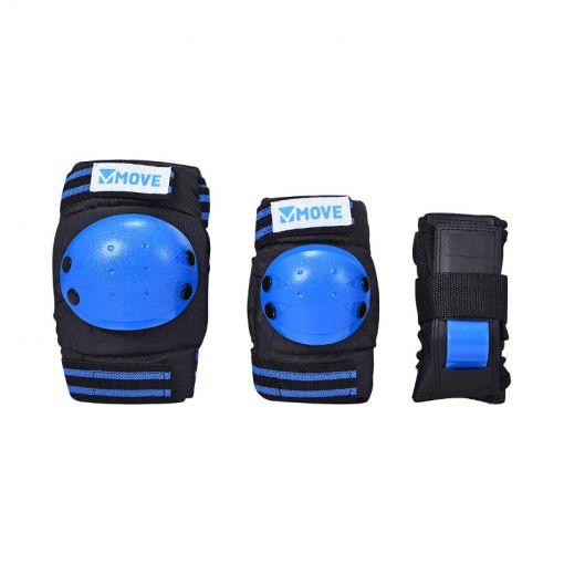 Kids set move 3-pack Blue - Blauw