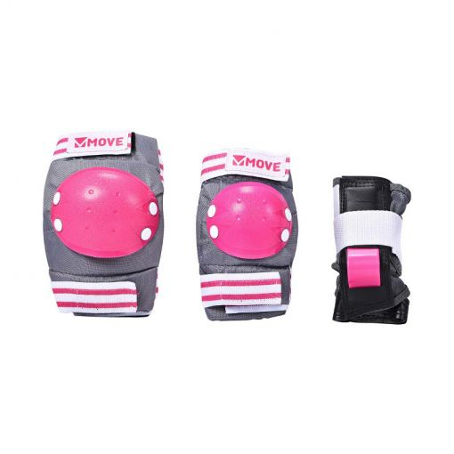 Move junior skatebeschermers 3-pack Pink - Roze