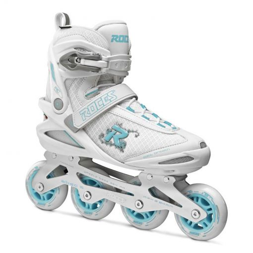 Roces dames skeelers Pic W 80 - White/Azure