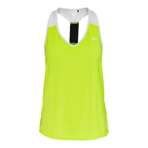 ONPAMBRE SL TRAINING TOP - 178294002 Safety Yellow/W. WHI