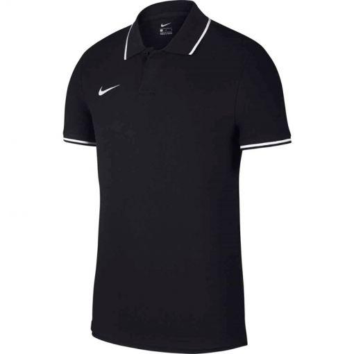 Nike heren polo Team Club - Zwart