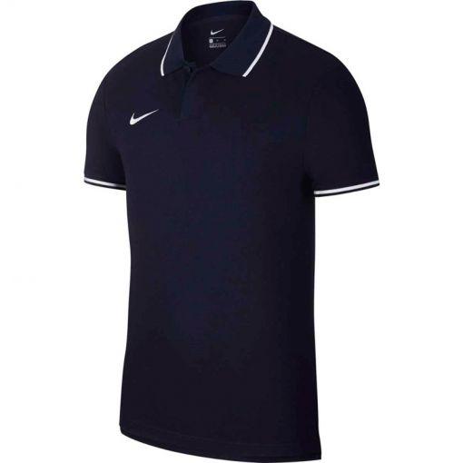 Nike heren polo Team Club - Blauw