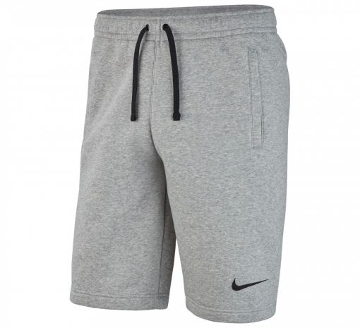 Nike junior short Fleece - 063 D Gry/Black