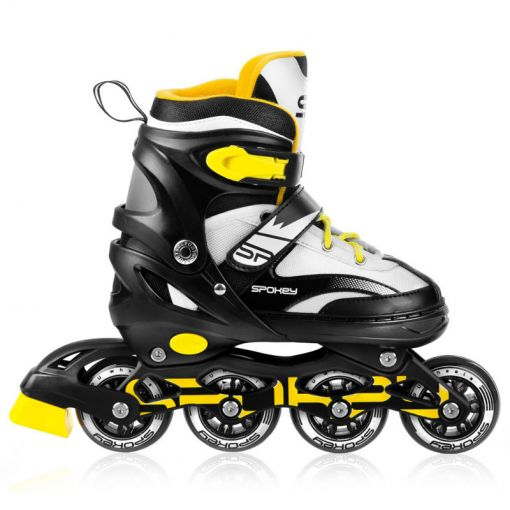 Spokey junior inline skates Tony - Bk/Yl