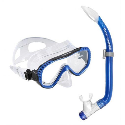 Aqua Lung snorkelset Pakala Combo - Blauw