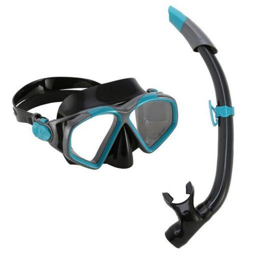 Aqua Lung snorkelset Hawkeye Combo - Dark Green/Black