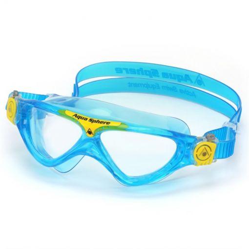Vista Junior Clear Lens - Aqua/Yellow