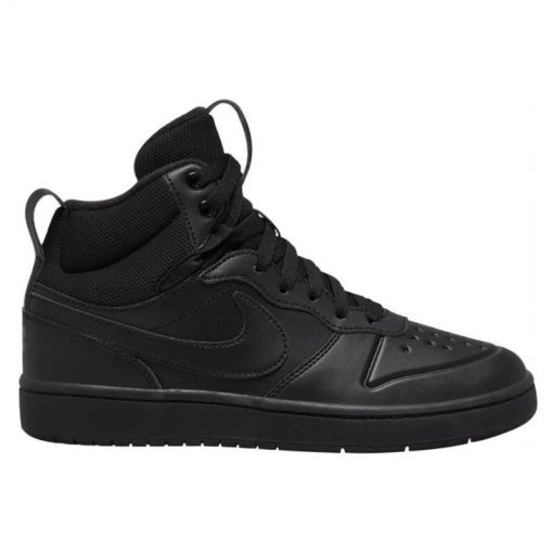NIKE COURT BOROUGH MID 2 BOOT BIG K - zwart