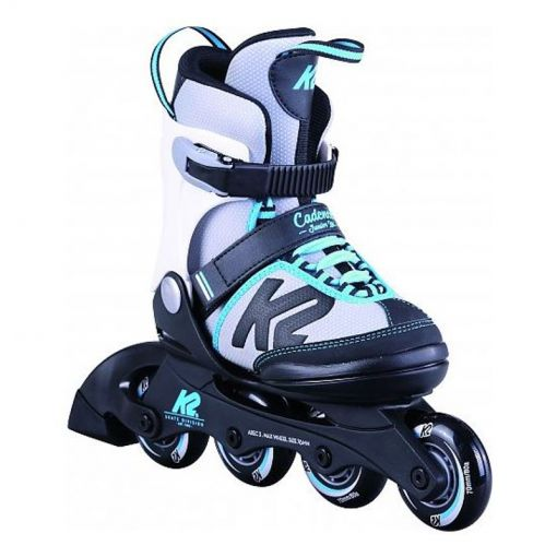 K2 junior inline skate Cadence Jr Ltd - 1 Light Blue/Gray