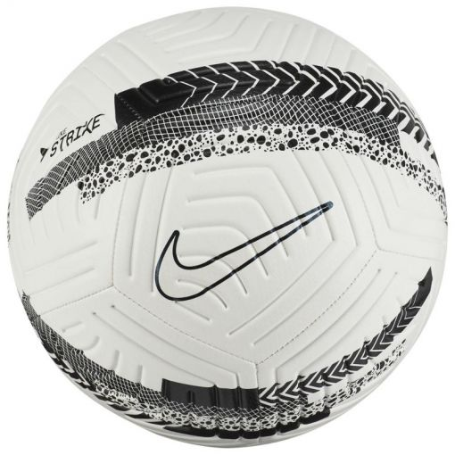 NIKE STRIKE CR7 SOCCER BALL,WHITE/B - 100 WHITE/BLACK/IRIDESCENT