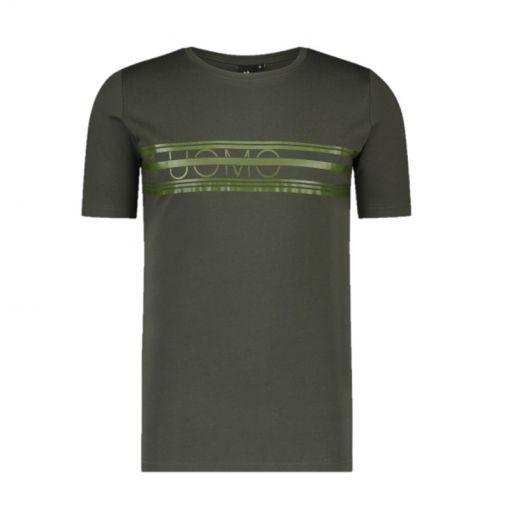 24 UOMO heren t-shirt Summer - 3 Army