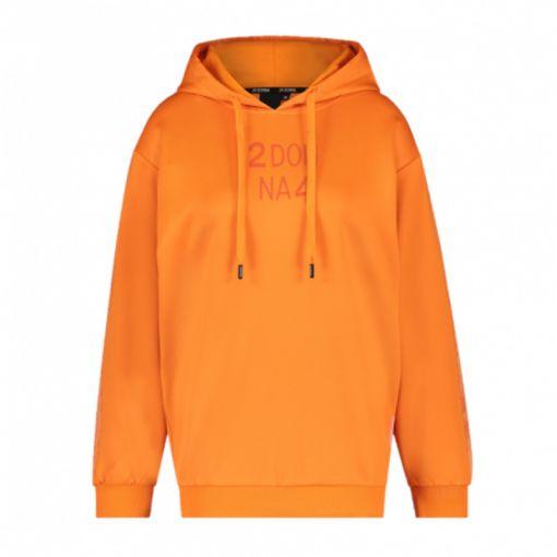 24 UOMO dames trui Hoody - 9 Orange