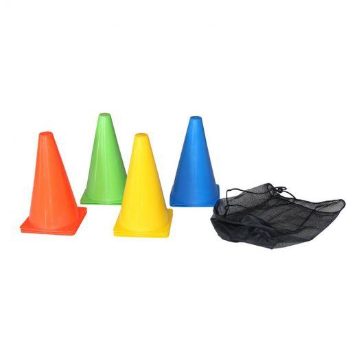 Tunturi pionnetjes Training Cone 10stuks - Multi