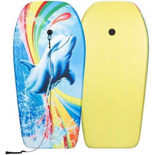 Bodyboard - Blauw/Groen/Geel
