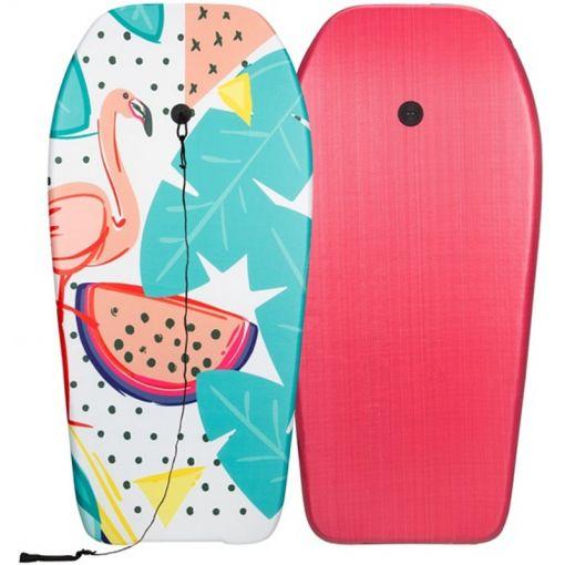 Bodyboard - Roze/Groen/Geel