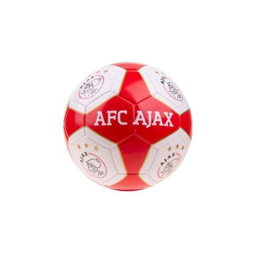 Ajax voetbal Middel Rood/Wit Vlakken - Rood/Wit Vlakken