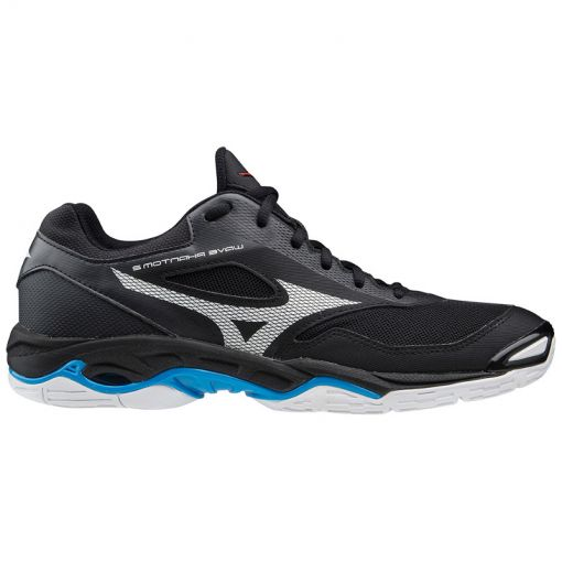 Mizuno dames indoorschoen Wave Phantom - 45 Black/White/Divablue