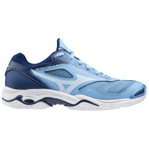 Mizuno dames indoorschoen Wave Phantom - 29 Dellablue/White