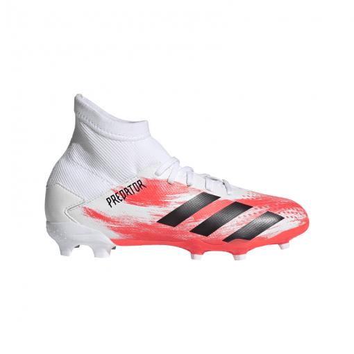 Adidas junior voetbalschoenen Predator 20.3 FG J - FTWWHT/CBLACK/POP