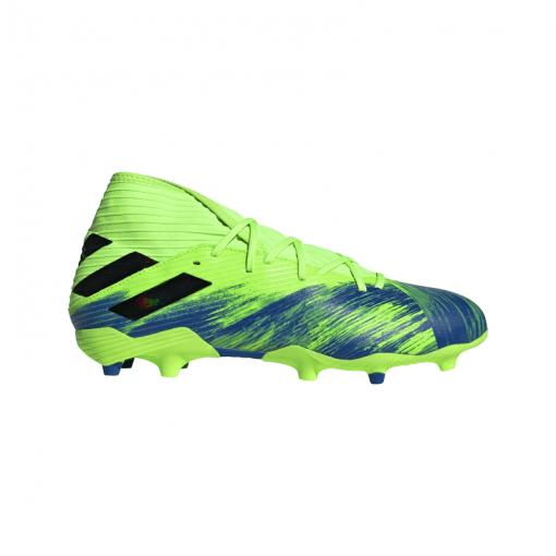 Adidas senior voetbalschoen Nemeziz 19.3 FG - SIGGNR/CBLACK/ROY SIGGNR/CBLAC