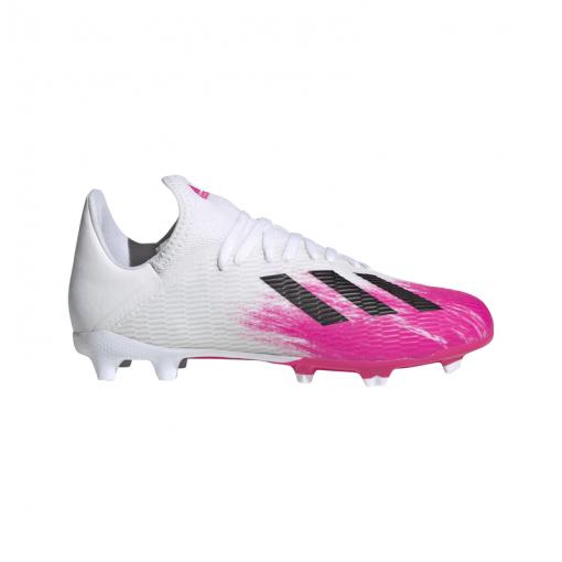 Adidas junior voetbalschoenen X 19.3 FG J - FTWWHT/CWHITE/SHO FTWWHT/CWHIT