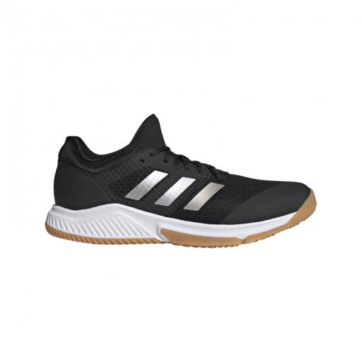 Adidas heren indoorschoen Court Team Bounce M - CBLACK/SILVMT/FTW CBLACK/SILVM