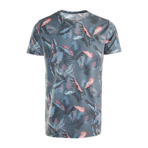 Brunotti heren t-shirt Jason-Leaf - Blauw