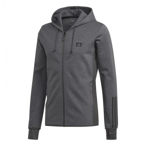 Adidas heren vest M D2M Motion Fz - Dgrey/Dgsogr