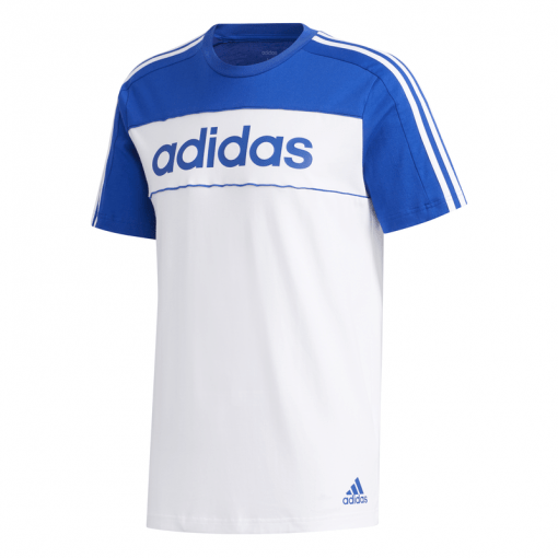 Adidas heren t-shirt M E Cb T - Royblu/White