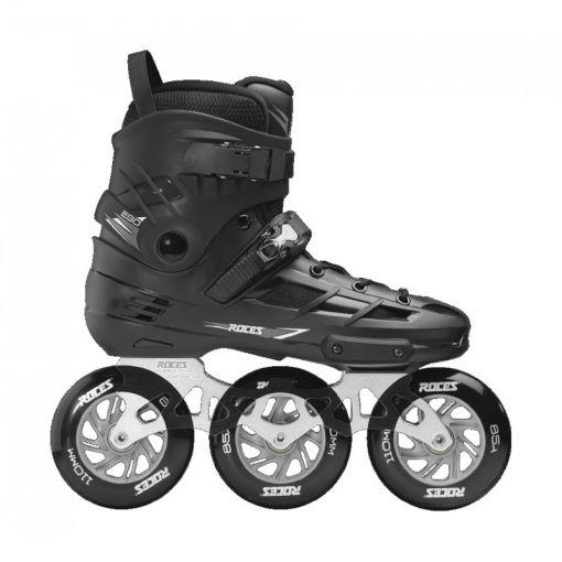 ROces heren inline skate Ego Tif 3x110 - Black/ Silver