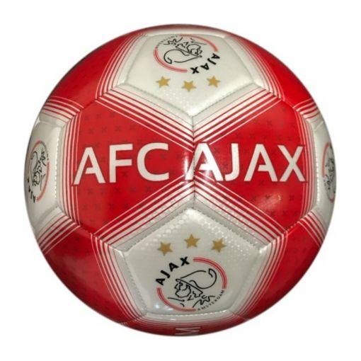 Ajax voetbal Groot Rood/Wit Streep - Rood/Wit Streep