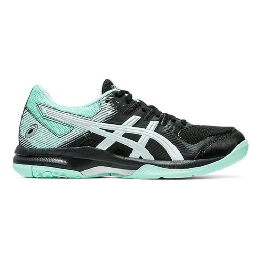 Asics dames indoorschoen Gel-Rocket 9 - 003 Black/ Fresh Ice