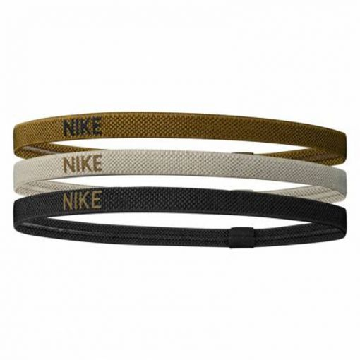 NIKE ELASTIC HAIRBANDS 3PK - 303 GrnGreBla