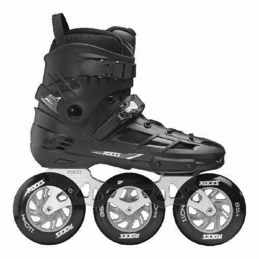 Roces heren inline skate Ego Tif 3x110 - Zwart